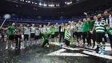 O Sporting juntou-se aos vencedores da prova em 2019