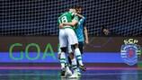 Tor der Fans der Endrunde: Pany Varela