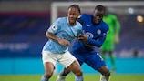 N'Golo Kanté trifft mit Chelsea auf  Rayheem Sterling und Manchester City