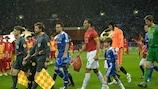 Chelsea und Manchester United bestritten das Endspiel 2008