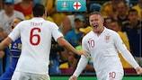 Wayne Rooney scored six goals in ten EURO appearances