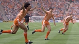 Orange-shirted sides have a 100% record in EURO finals