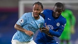 Manchester City meet fellow Premier League side Chelsea in the final