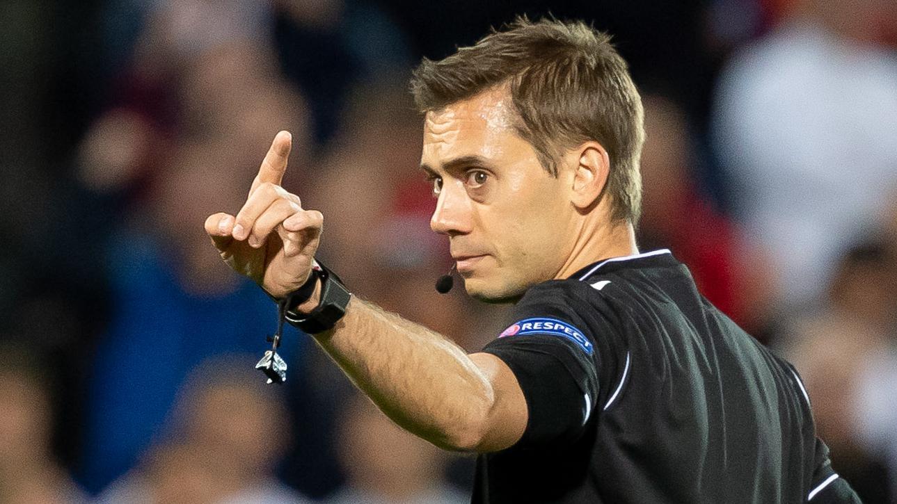 Finale de l&#39;UEFA <b>Europa League</b>, Clément Turpin au sifflet
