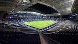 O Estádio do Dragão, no Porto, vai receber a final de 2021