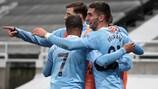 Ferran Torres  marcó un 'hat-trick' en la victoria del City por 3-4  ante el Newcastle