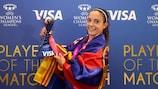 Joueuse du match de la finale de l'UEFA Women's Champions League, Aitana Bonmati