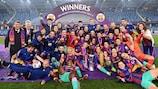 Barcelona holte sich zum ersten Mal den Titel