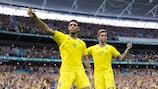 Ucrania lideró su grupo en los play-offs