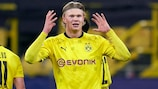 Erling Haaland has scored ten goals in this season's competition