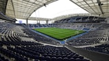 The final will be held at the Estádio do Dragão in Porto, Portugal