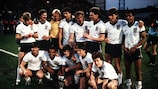 England: winners of the 1984 Competition for national representative Under-21 teams, which ended in a two-legged final against Spain