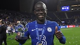 N'Golo Kanté wins the award again for an outstanding final performance