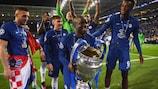Ngolo Kanté, con el título de la UEFA Champions League