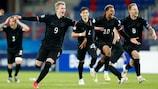 Alemania muestra su felicidad tras ganar en los penaltis
