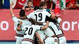 Portugal feiert das Siegtor