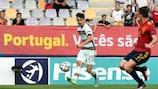 O golo que colocou Portugal na final do Campeonato da Europa de Sub-21