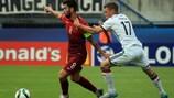 Portugal vs Alemanha no Campeonato da Europa Sub-21 da UEFA