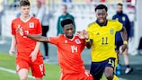 Sweden opened in June with a 6-0 defeat of Luxembourg