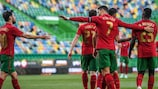 Portugal won their last pre-finals friendly, 2-0 against Israel in Lisbon
