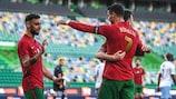 Resumo: Portugal 4-0 Israel