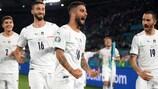 Italia ganó 0-3 a Turquía en el primer partido de la UEFA EURO 2020
