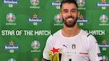 Spinazzola es la primera Estrella del Partido de la UEFA EURO 2020