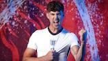 England defender John Stones, primed for action