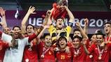 Resumen de la final de la Eurocopa 2012: España - Italia 4-0