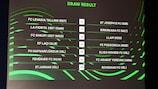 UEFA Europa Conference League, tirage du premier tour de qualification