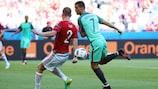 Ronaldo goals at five EUROs