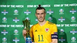 Gareth Bale , Estrella del Partido