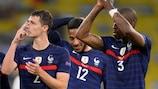 Benjamin Pavard and Presnel Kimpembe form half of an impressive France defence
