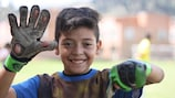 The UEFA Foundation has been helping children since 2015