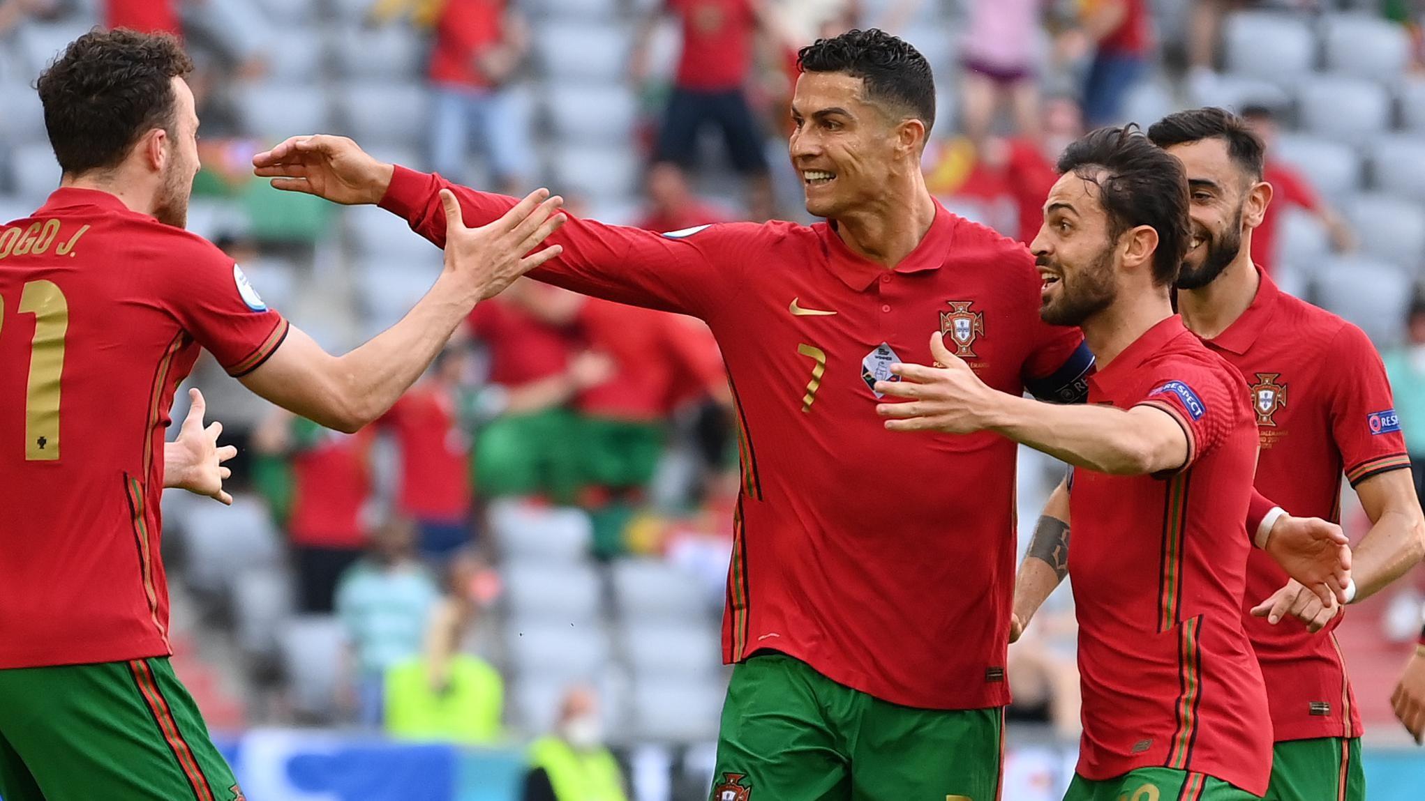 Cristiano Ronaldo adds to EURO all-time scoring record | UEFA EURO 2020 |  UEFA.com