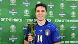 Federico Chiesa mit seiner Auszeichnung