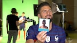 Watch Giroud's France baby photo challenge