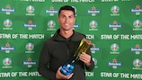 Cristiano Ronaldo, six fois Homme du match à l'EURO
