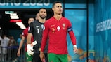 Cristiano Ronaldo collected his 179th Portugal cap on his final appearance at UEFA EURO 2020