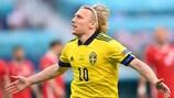 Три гола Эмиля Форсберга на ЕВРО-2020