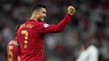 Europe's top international scorers