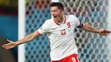 Robert Lewandowski is Poland's all-time EURO top goalscorer