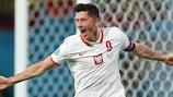 Robert Lewandowski é o melhor marcador da Polónia no EURO