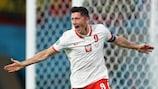 Robert Lewandowski ist Polens erfolgreichster EURO-Torschütze