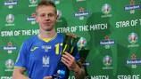 Oleksandr Zinchenko: gol, asistencia y Estrella del Partido
