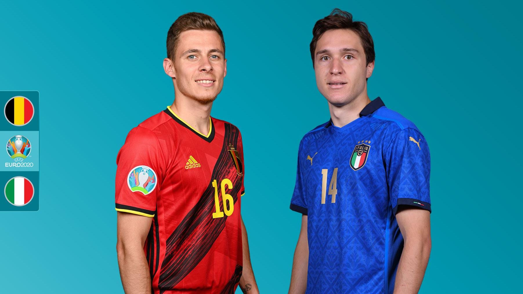 Belgium vs Italy UEFA EURO 2020 preview: where to watch, TV channels and live streams, starting line-ups, form guide