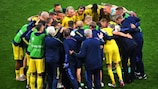 Sweden did not lose over 90 minutes but were undone at the end of extra time against Ukraine