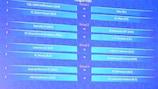 Round 1 draw made