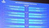 16 squadre del percorso Piazzate si sfidano per quattro posti al secondo turno