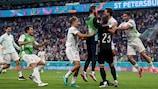 España e Italia se clasificaron para los cuartos de final